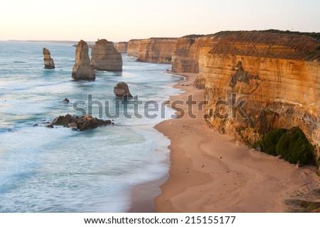 Twelve Apostles, Great ocean road, Australia. - stock photo