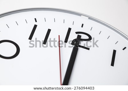Twelve o'clock - stock photo