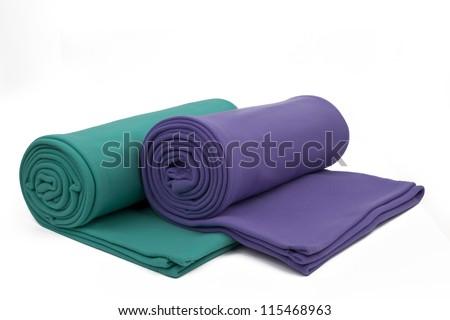 two blanket - stock photo