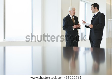 Two businessmen. - stock photo