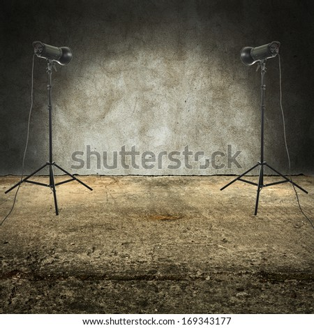 two lamps  - stock photo