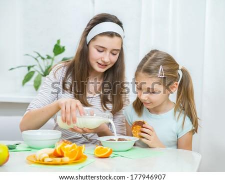 written cum eating instructions