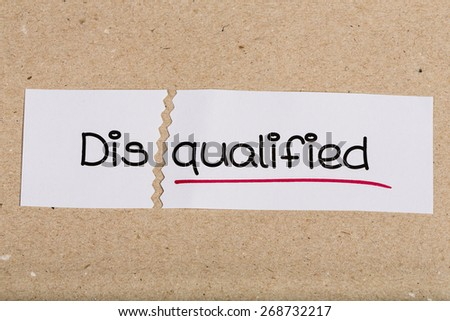 Disqualified stock options