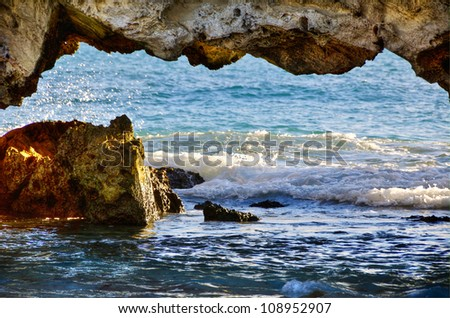 Two Rocks Western Australia - stock photo