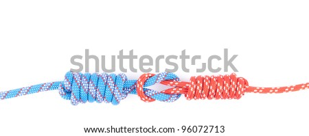 two rope nooses - stock photo