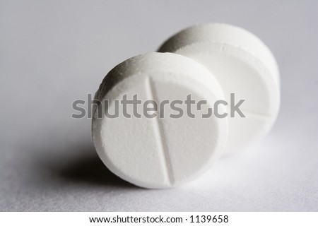 Two Tablets - stock photo