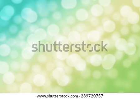 Two Tone of Dreaming Sweet Blue and Yellow Ice Cream Cool Feeling Natural Bokeh Blurred Background Texture - stock photo