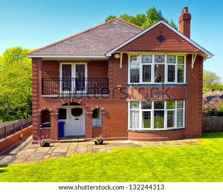 Typical English Houses Stock Photos Images Amp Pictures