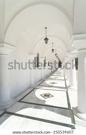 Typical Greek church. Greece, Athens - stock photo