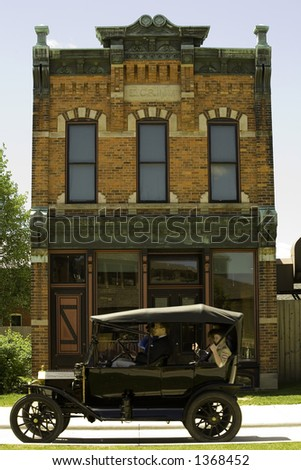 Typical House from the 30th - stock photo
