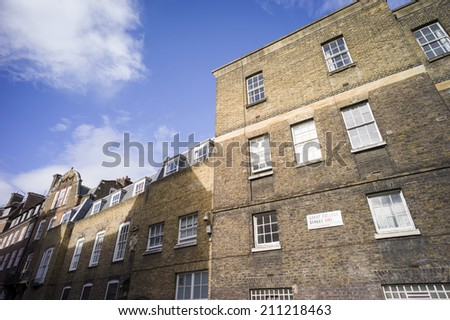 typical house in London - stock photo