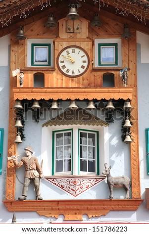 typical mountain house - stock photo