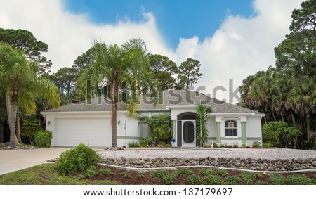 Stucco houses southwest stock photos images pictures for Concrete homes florida