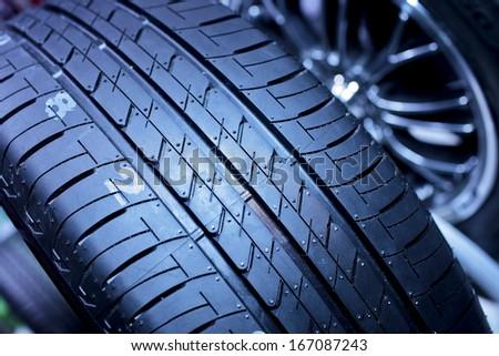 tyre - stock photo