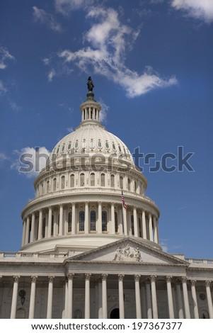U.S. Capitol in Washington D.C.  - stock photo