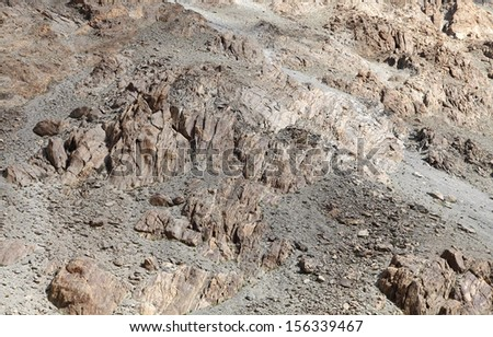 Ultra mafic Volcanics - stock photo