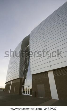 Ultra Modern Sports Arena - stock photo