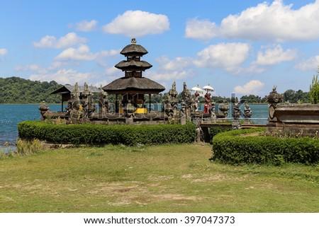 Ulun Danu Bratan Temple - stock photo