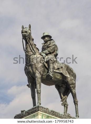 Ulysses S. Grant Memorial in Washington DC - stock photo