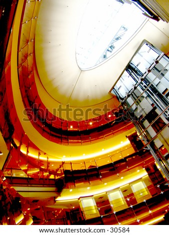 Underground Mall in Montreal - stock photo