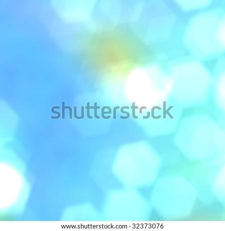 Underwater blur - stock photo