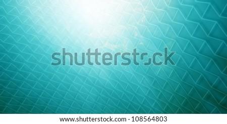 Underwater Net - stock photo