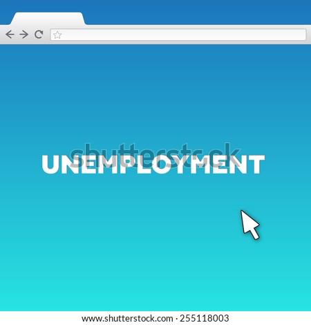 UNEMPLOYMENT - stock photo
