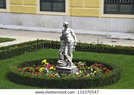 UNESCO World Cultural Heritage: Schloss Schoenbrunn Palace, Vienna - Austria - stock photo