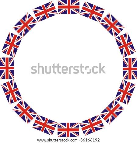 Union Jacks - stock photo