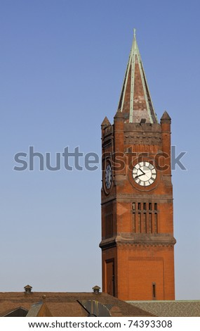 Union Station in Indianapolis, Indiana. - stock photo