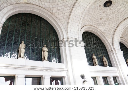 Union Station in Washington DC, USA - stock photo