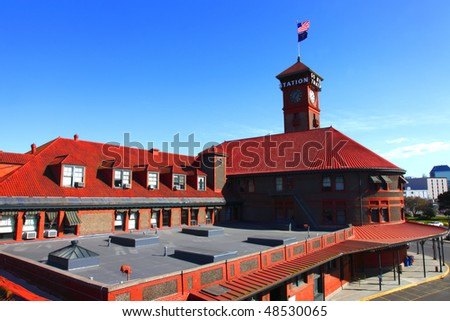 Union Station Portland OR. - stock photo