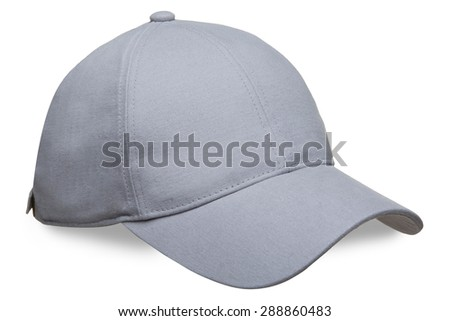 unisks cap on a white background - stock photo