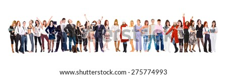 United Colleagues People Diversity  - stock photo