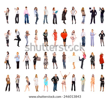 United Colleagues Together we Stand  - stock photo