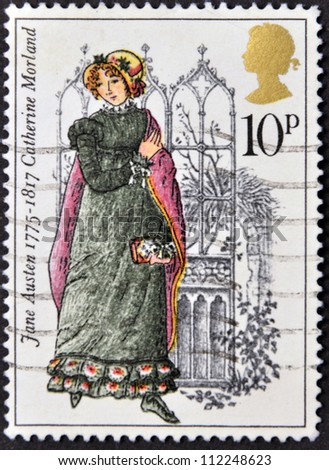 United kingdom circa 1975 a stamp printed in united kingdom shows