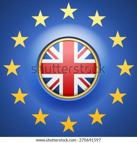 United Kingdom of Great Britain - stock photo