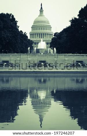 United States Capitol Building - Washington D.C. USA - stock photo