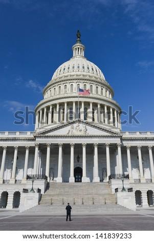 United States Capitol Building, Washington DC - United States - stock photo