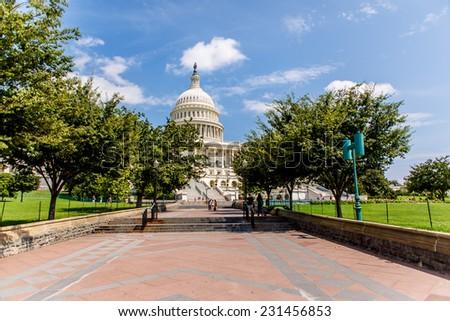 United States Capitol in Washington, D.C - stock photo
