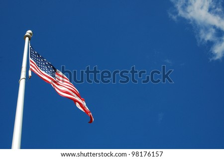 United States Flag - stock photo