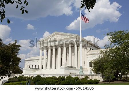 United States Supreme Court - stock photo