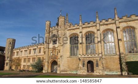 University of Cambridge - stock photo