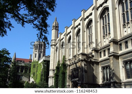 University of Chicago - stock photo