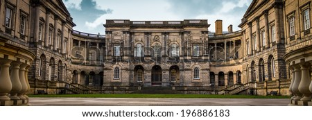 University of Edinburgh - stock photo