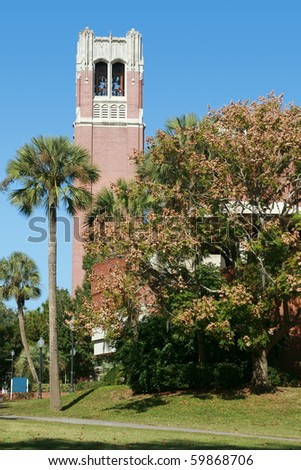 University of Florida Century Tower - stock photo