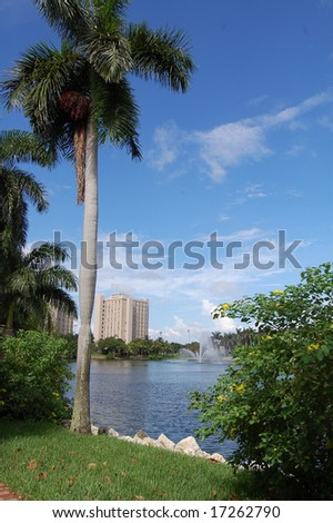 University of Miami campus - stock photo