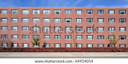 University residence halls - stock photo
