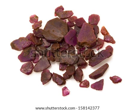 Uncut Unpolished Ruby Unpolished Rough Ruby