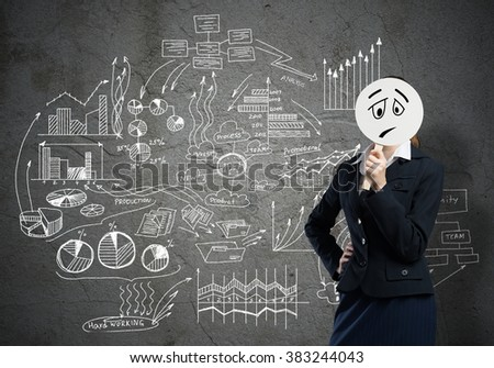 Unrecognizable businesswoman - stock photo